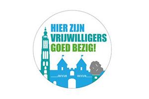 Sticker Vrijwilligers